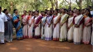 RabindraNath Tagore`s 150th birth Anniversary - Shantiniketan 08 May 2012