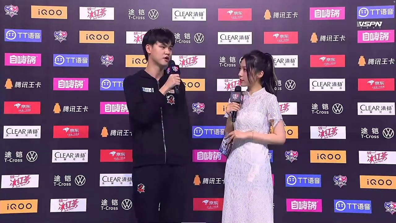 [赛后采访] 易峥:以前不够成熟,现在成长了