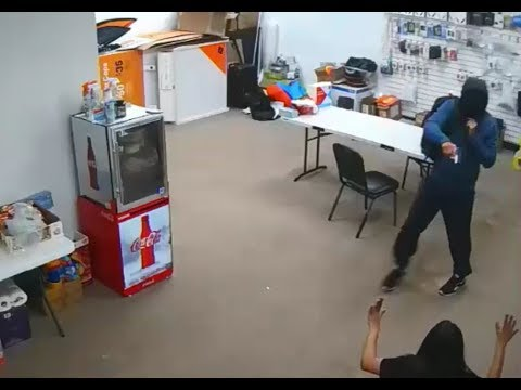 All Five Robbery Videos Of Serial Suspect Released *Previously Posted*
