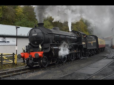 North Yorkshire Moors Railway Green Timetable Thursday 19th October 2017