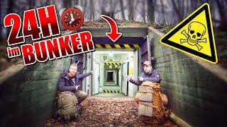 24H im PREPPER BUNKER der Naturensöhne + Bushcraft Camp Roomtour | Fritz Meinecke