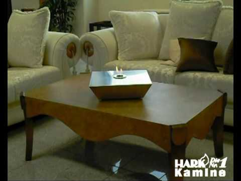 hark design gelkamin tischfeuer fuego 10 youtube. Black Bedroom Furniture Sets. Home Design Ideas
