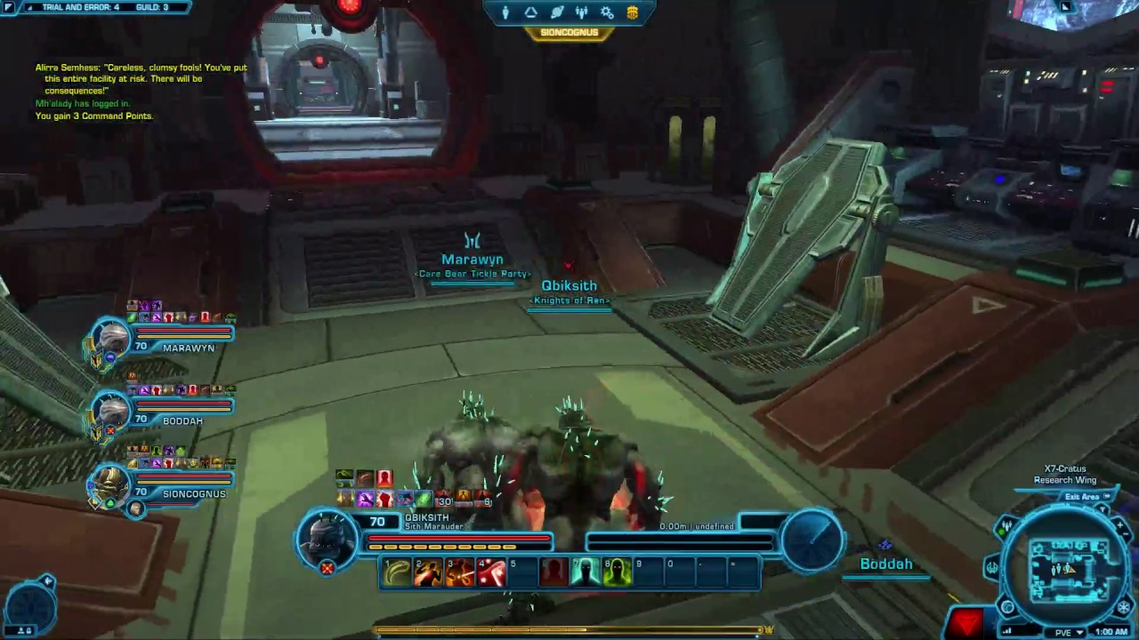 SWTOR VETERAN Uprising Trial and Error - YouTube