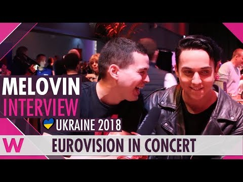 MELOVIN (Ukraine 2018) Interview | Eurovision in Concert 2018