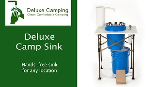 Deluxe Camp Sink - DeluxeCamping.com