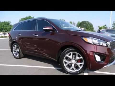 2017 kia sorento 3 3l sx a6 in concord nc 28027 youtube. Black Bedroom Furniture Sets. Home Design Ideas