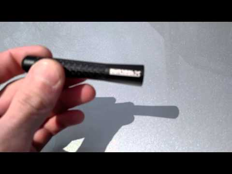 Review on 2 inch carbon fiber aluminum antenna