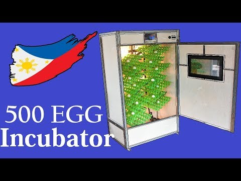 Making a 500 Egg Hatching Incubator With Automatic Egg