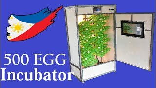 Making a 500 Egg Hatching Incubator With Automatic Egg Turner thumbnail