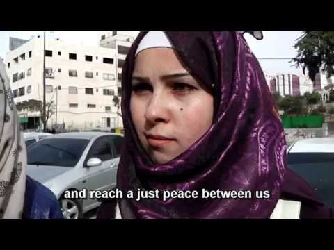 Palestinians: What is your message to Israeli youth?
