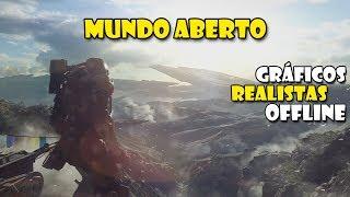 15 MELHORES Jogos MUNDO ABERTO/OFFLINE Com GRÁFICOS REALISTA para Android DE 2018