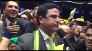 Deputado Bruno Araújo profere voto que decide votação do impeachment na Câmara