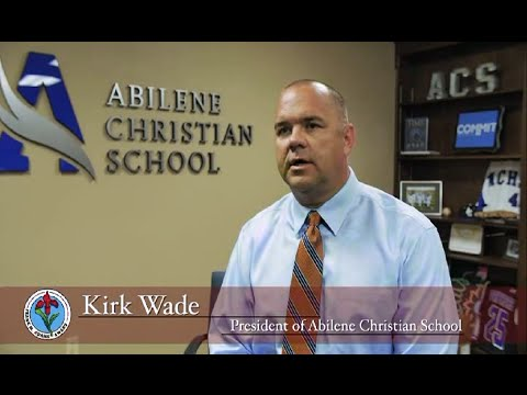 Abilene Christian School - Frank M Adams Award Winner 2016