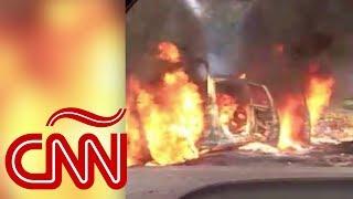 Gobierno de AMLO presentó logros en seguridad, horas después masacraron policías en Michoacán