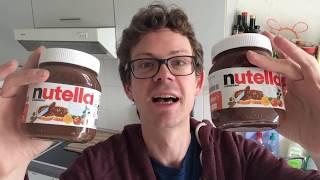 Neues NUTELLA 2017 vs altes Nutella: Andere Rezeptur- Schmeckt man den Unterschied? Das sagt Ferrero