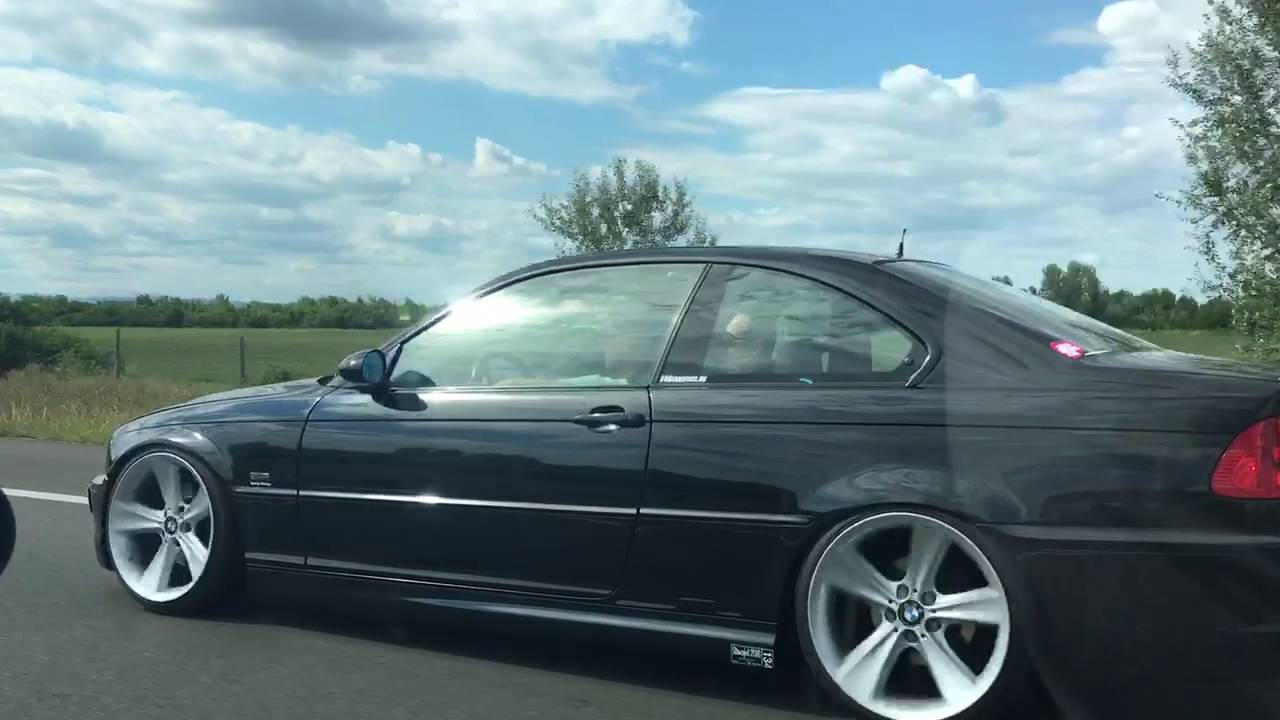 E46 325ci With Styling128 Wheels Youtube