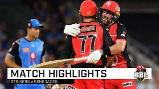 'Gades get home on back of veteran duo | KFC BBL|08