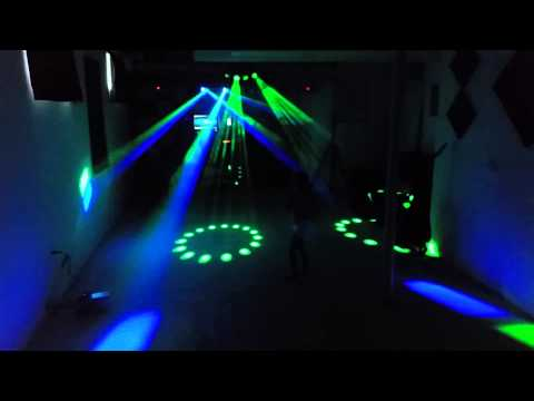 Mobile DJ Light setup