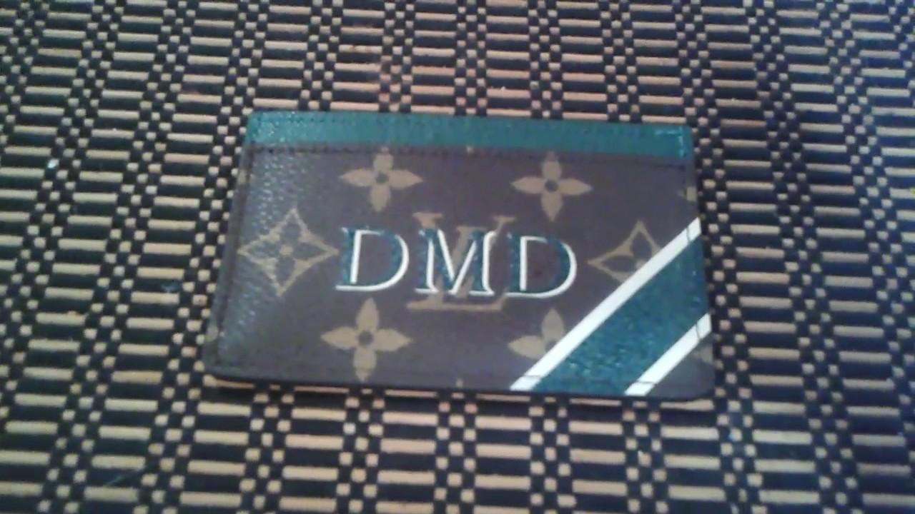 louis vuitton mon monogram card holder youtube