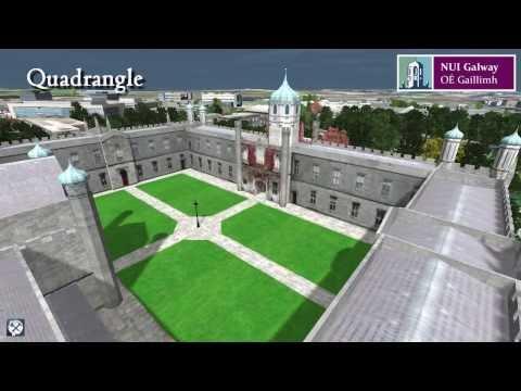 NUI Galway 3D Virtual Campus Tour v02 (Feb 2014)
