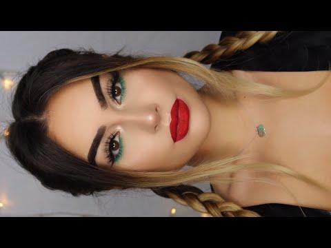 LAZY Christmas Makeup Tutorial I Aylin Melisa