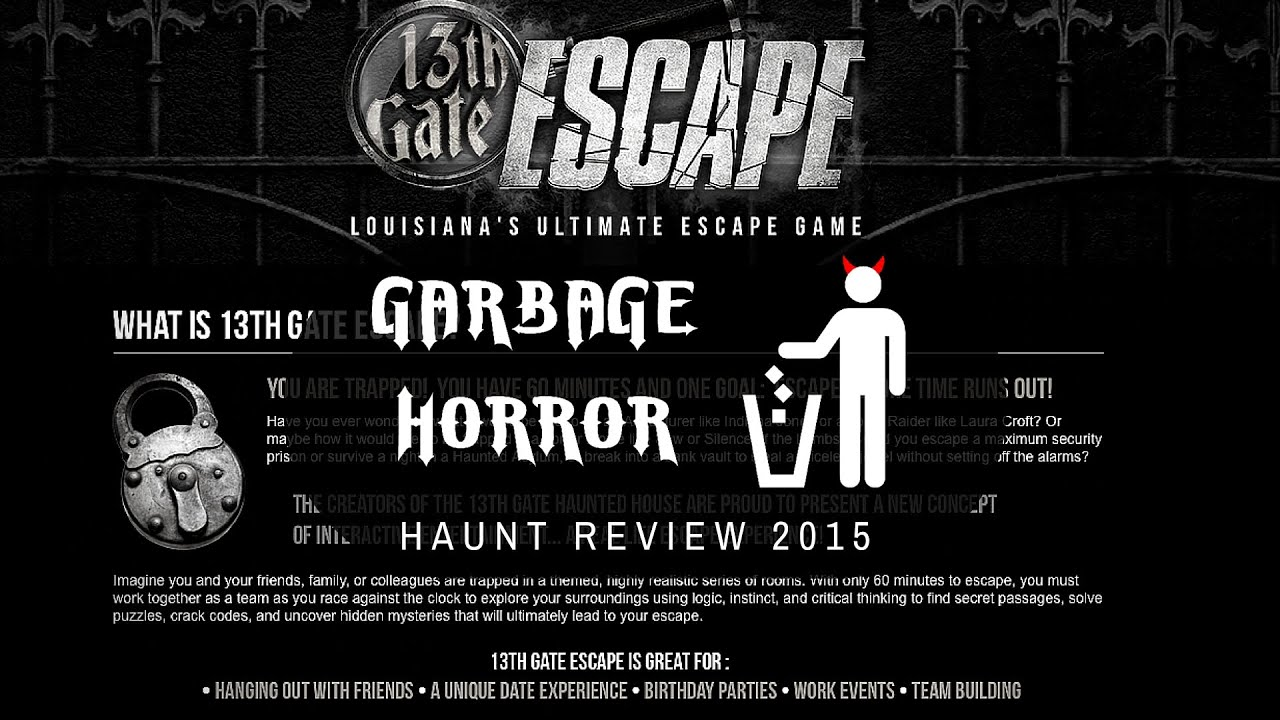 Haunted House Escape: the passage in detail