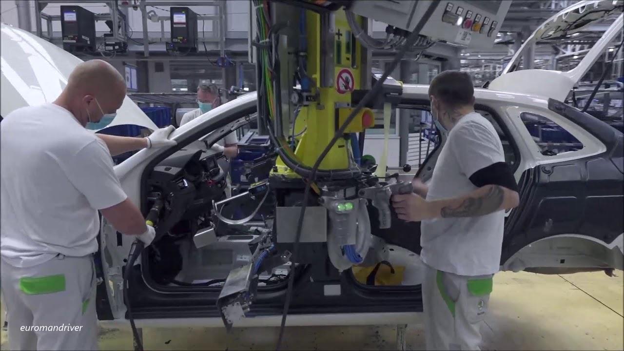 skoda production plants
