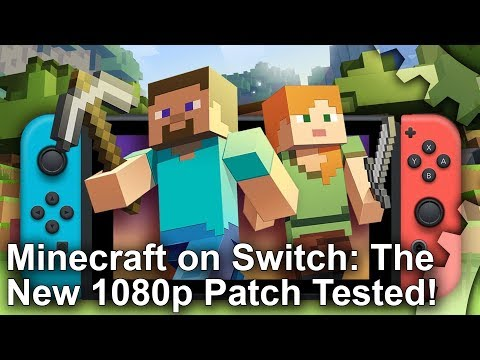 Minecraft Switch Edition Boosted to 1080p! Patch 1 06