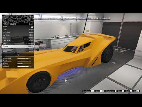 GTA 5 Online - Siêu Xe Của Người Dơi (Batman) Trong GTA V