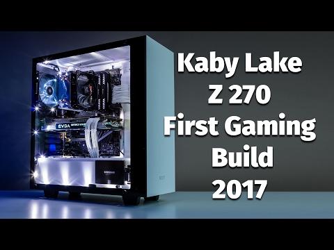 Kaby Lake I5 7600K, MSI Z270 SLI Plus, EVGA FTW GTX 1070 Gaming Build