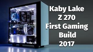 kaby lake i5 7600k msi z270 sli plus evga ftw gtx 1070 gaming build
