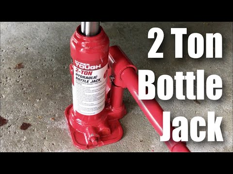 HyperTough 2 Ton Hydraulic Bottle Jack from Walmart review