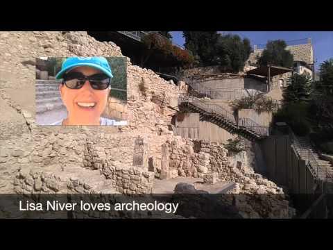 Jerusalem City of David Tour October 18 2015