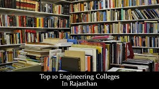 Top 10 Engineering Colleges In Rajasthan