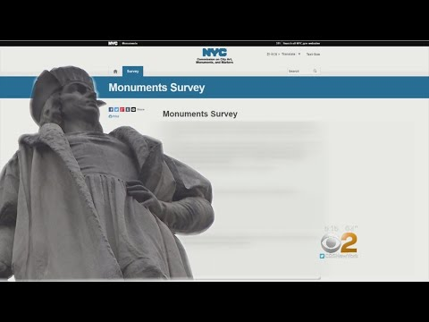 NYC Launches Online Survey Regarding Controversial Statues