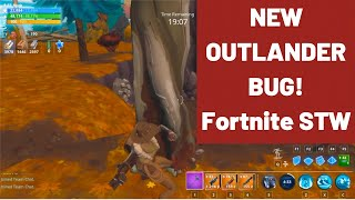 NEW BUG FOR OUTLANDERS! | Fortnite STW V8.00