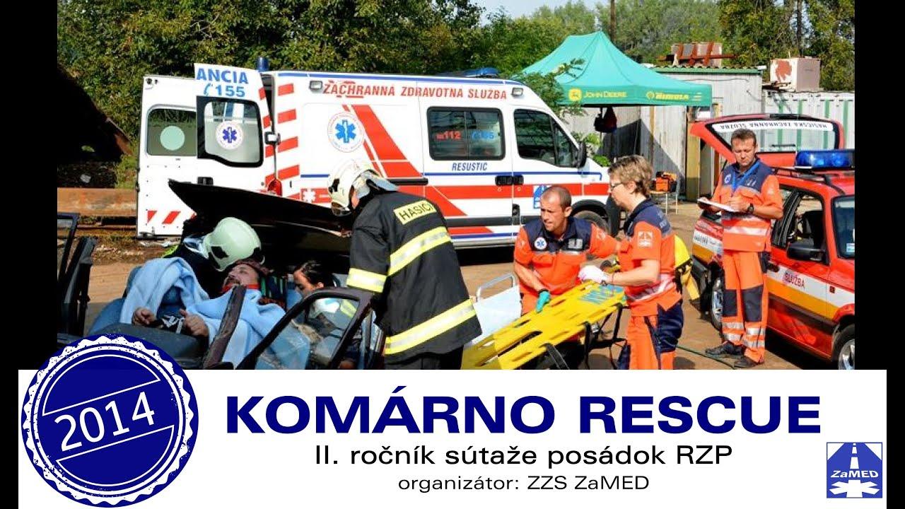 6ce796b5ca ZaMED Komárno Rescue 2014 - ZaMED - záchranná zdravotná služba - imclips.net
