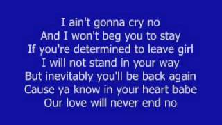 Always Be My Baby - David Cook w/ lyrics!