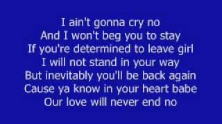 Always Be My Baby David Cook w lyrics