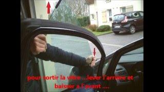 Fiat Punto 2 -[Tuto]- démontage lève vitre électrique avant