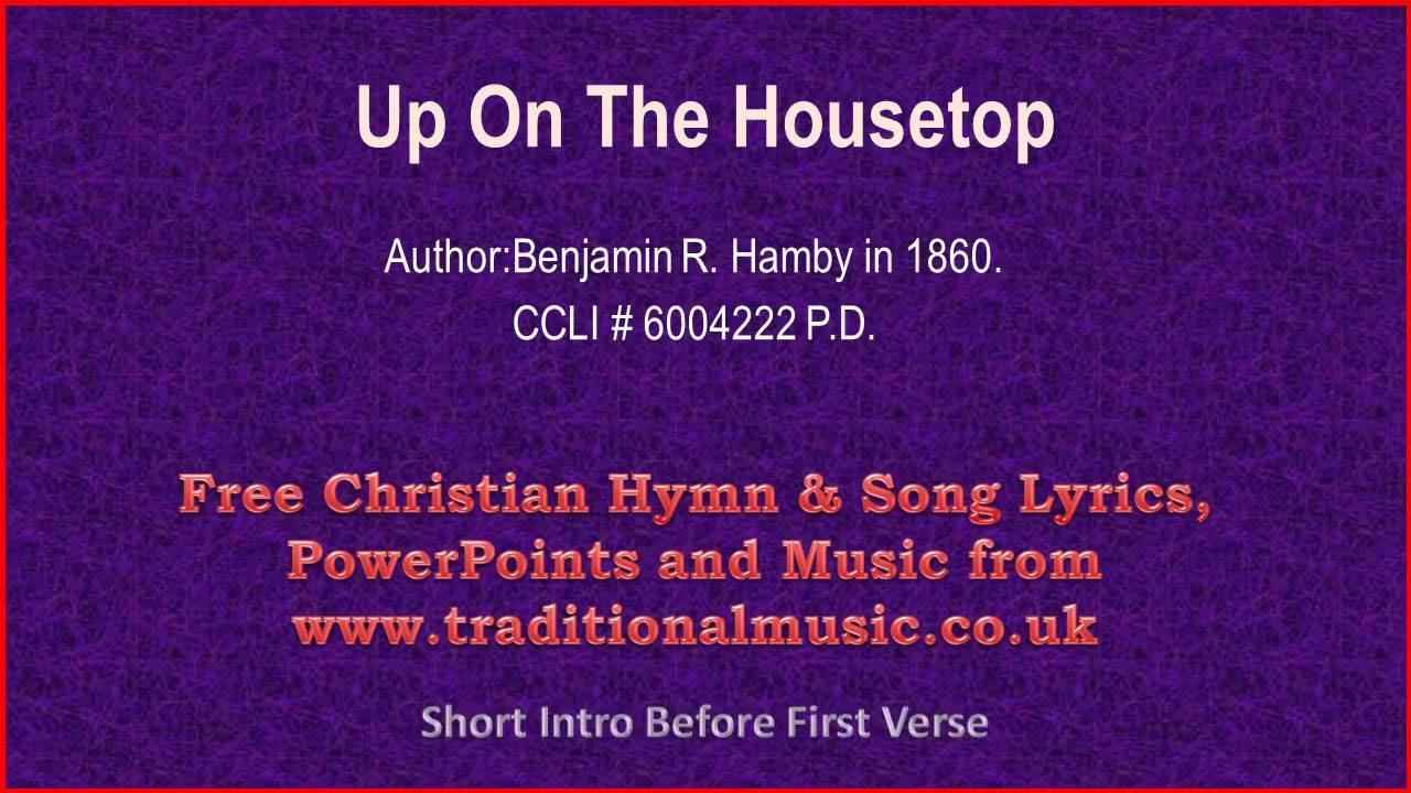Up On The Housetop - Christmas Carols Lyrics & Music - YouTube
