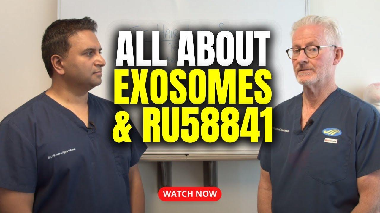 Exosomes and RU58841