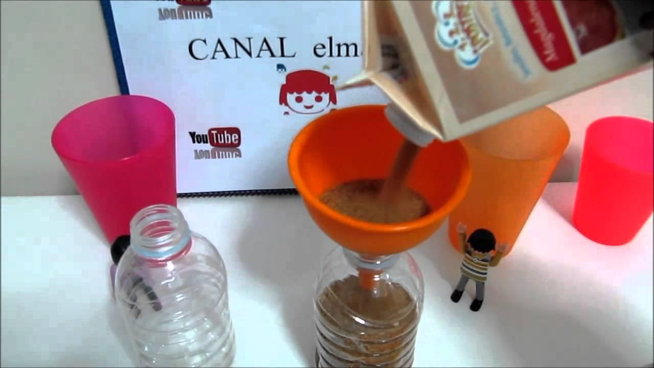 Experimentos caseros reloj de arena con azucar youtube - Como hacer un reloj de pared ...