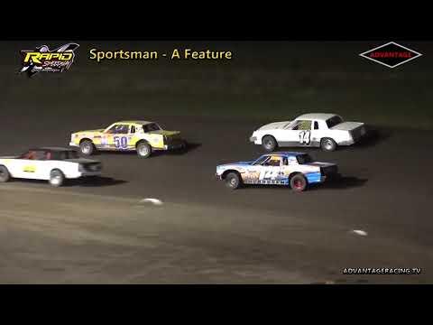 Sportsman Heat/Feature - Rapid Speedway - 9/14/18