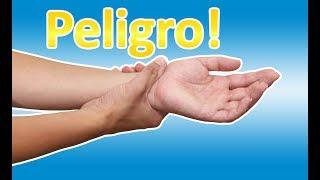Hormigueo causar la las y puede deshidratación manos en entumecimiento