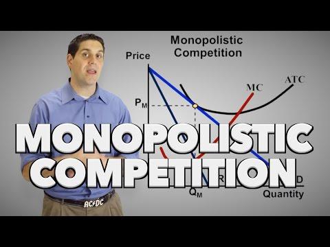 Monopolistic Competition- Short Run And Long Run- Micro 4.4