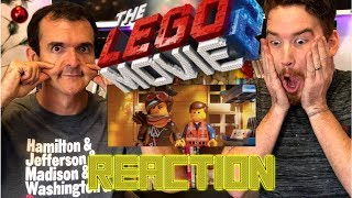 THE LEGO MOVIE 2 : THE SECOND PART | Trailer #2 | Reaction!