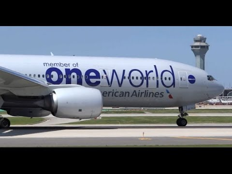 (HD) Plane Spotting Wonderland - Chicago O'Hare International Airport HD