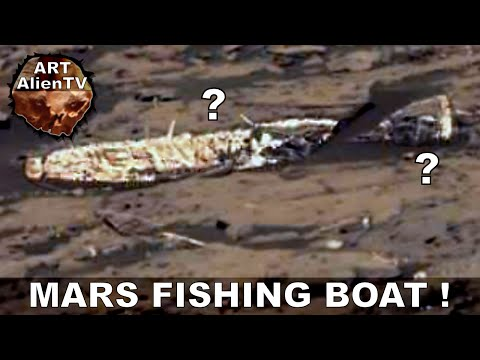 MARS FISHING BOAT ? Little Wreck Found ? ArtAlienTV - 2015