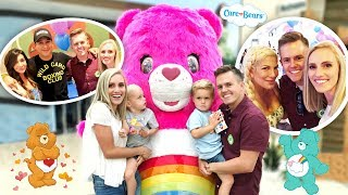 GIANT CARE BEAR MAKES SURPRISE VISIT!